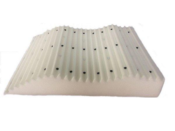 Travesseiro Magnético Descanso para Pernas - 0,80 X 0,63 X 0,16 m