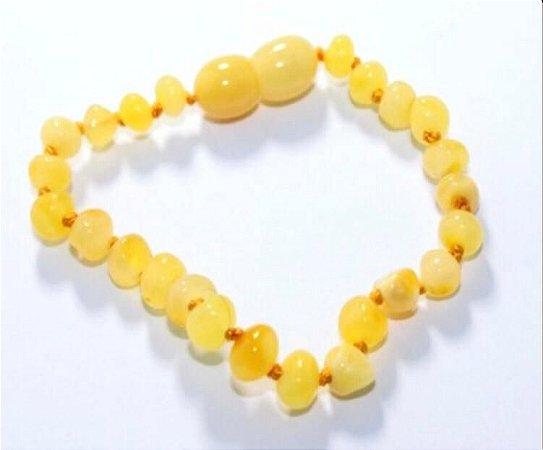 Pulseira Adulto Manteiga Polido - 18 cm
