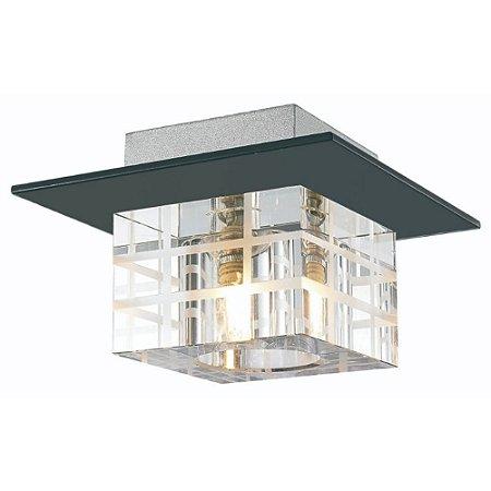 Plafon Cristal Clássico Sala Estar Jantar Quarto Moderno
