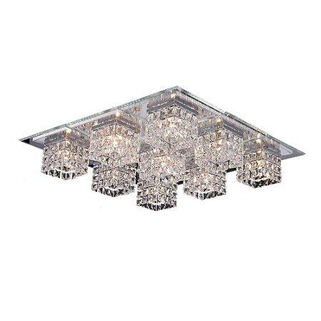 Plafon Cristal Quadrado 60 cm x 60 cm