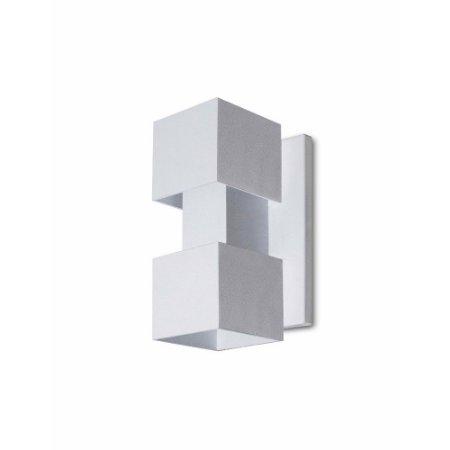 Arandela Alumínio Retangular 19x12 Efeitos