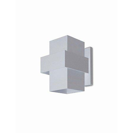 Arandela Alumínio Retangular 16x12 Efeitos