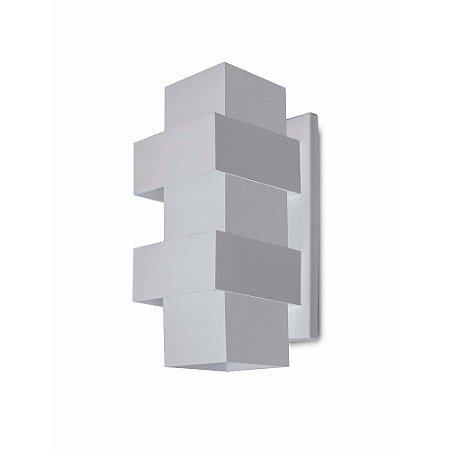 Arandela Alumínio Retangular 25x12 Efeitos