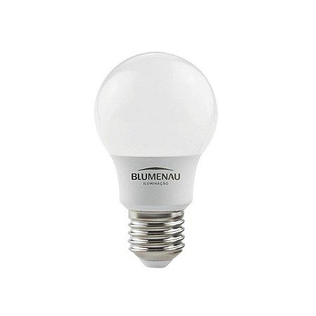 Lâmpada LED Bulbo 7W A55 E27 560Lm Bivolt 3000K Branco Quente Luz Amarela