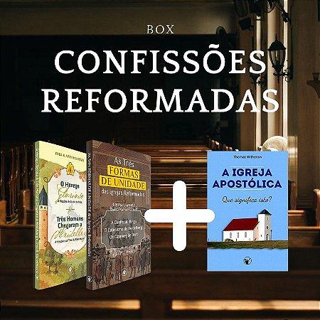 [BOX] - Confissões Reformadas + Livro grátis