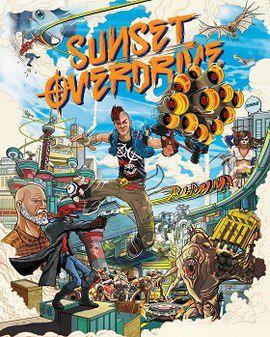 Sunset Overdrive Semi Novo - Xbox