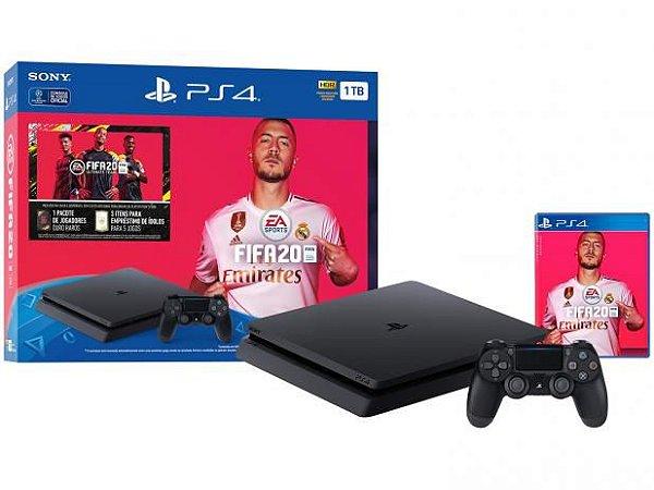 Playstation 4 Slim - 1Tb + Fifa 20