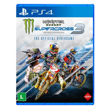 Monster Energy - SuperCross 3 - PS4