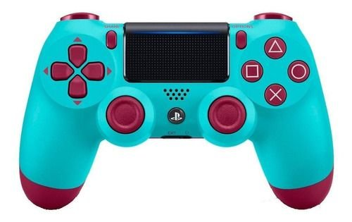 Controle Playstation 4 Berry Blue