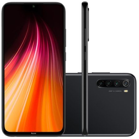 SmartPhone Xiaomi Redmi note 8 64GB - PRETO (space black)