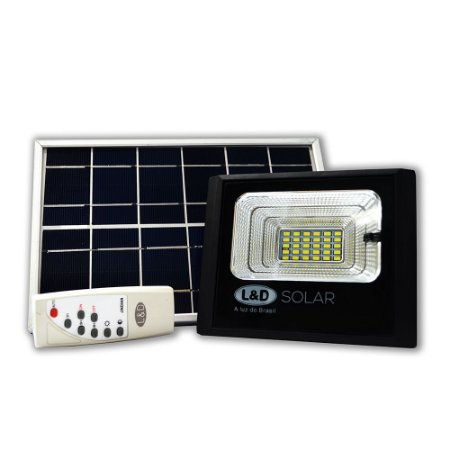 Refletor LED Energia Solar 50W