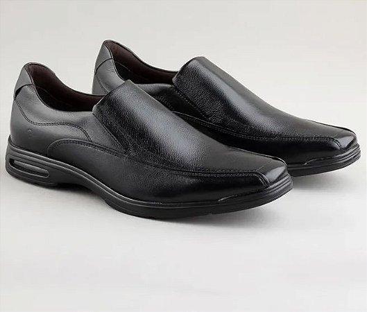 Sapato Democrata Smart Comfort Air Spot Preto - 448027-001