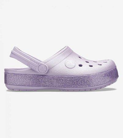 Crocs Crocband Glitter Roxo- 205936-530