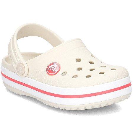 Crocs crocband Clog K Stucco/melon  Infantil/204537-1AS