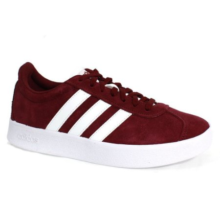 CL5388-Tênis VL Court 2.0 M Adidas - Bordô