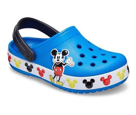 Sandália Crocs Infantil FunLab Mickey Mouse/ 206307-4JL