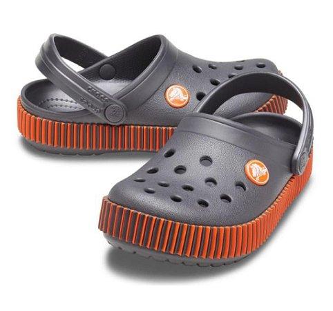 Crocs Boy's  Color Spectrum Clog-Graphite- Infantil -206348 014