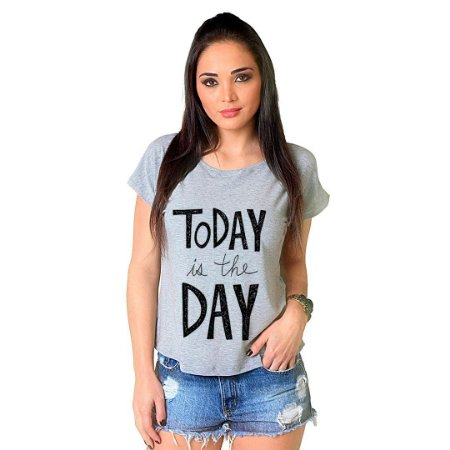 Camiseta T-shirt  Manga Curta Today
