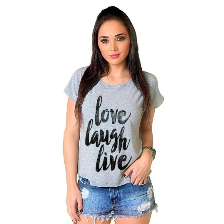 Camiseta T-shirt  Manga Curta Love Live