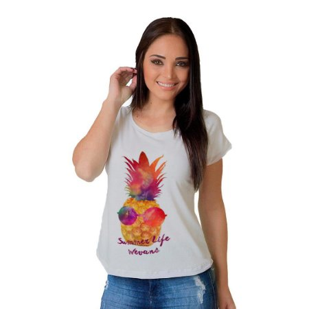 Camiseta T-shirt  Manga Curta Easy Life