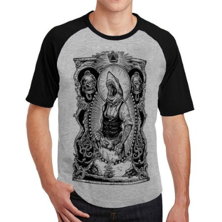 Camiseta Raglan Tubarão Jack