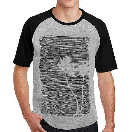 Camiseta Raglan Grunge Rock