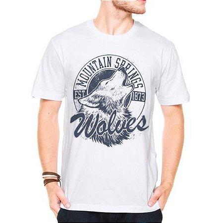 Camiseta Manga Wolves