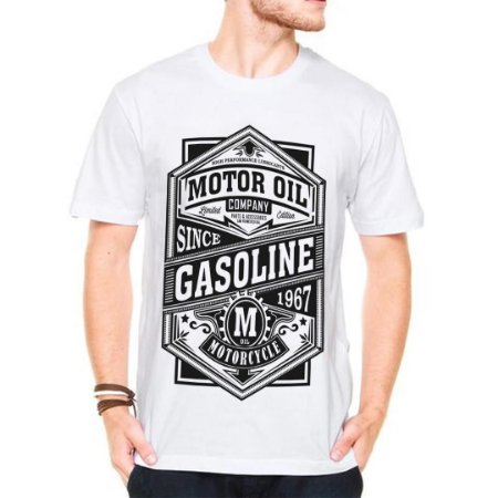 Camiseta Manga motorcycle 1967