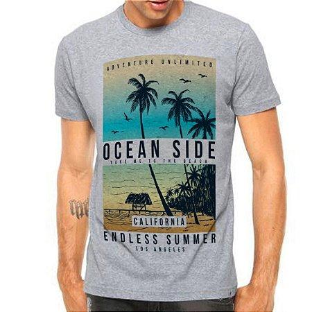 Camiseta Manga Curta Ocean Side
