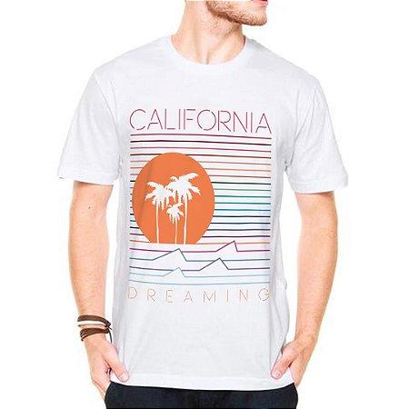 Camiseta Manga Curta california dreaming
