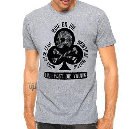 Camiseta Manga Curta Ride Or Die