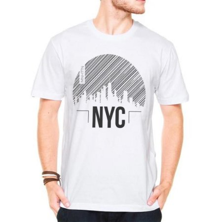 Camiseta Manga Curta Manhattan NY