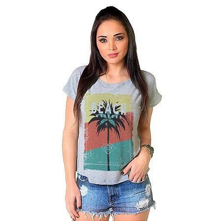 Camiseta T-shirt  Manga Curta Beach Weekend