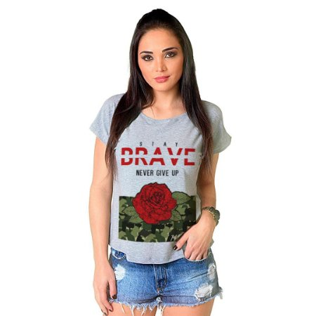 Camiseta T-shirt  Manga Curta Brave