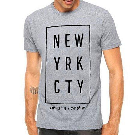 Camiseta Manga Curta New Yrk Cty