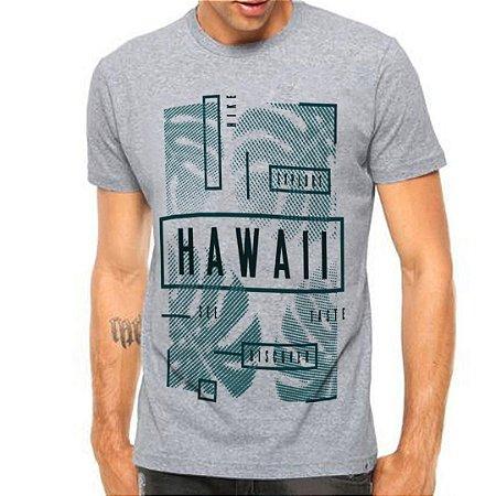 Camiseta Manga Curta Hawii