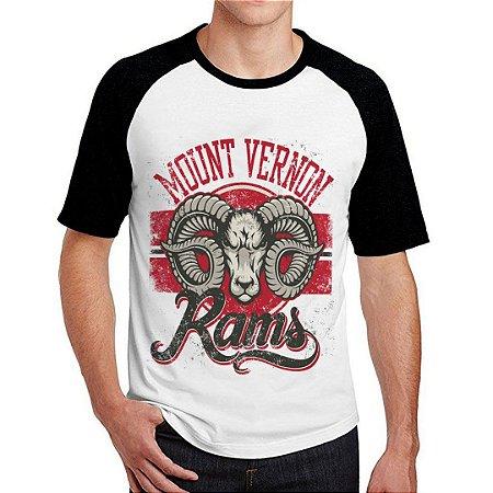 Camiseta Raglan rams