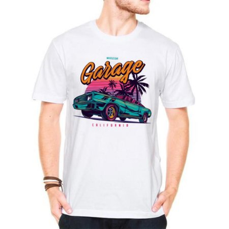 Camiseta Manga Curta Garage