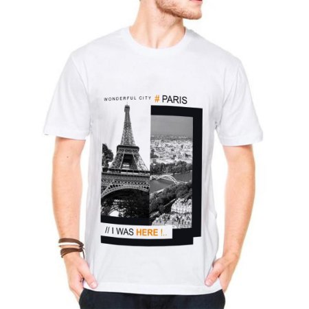 Camiseta Manga Paris