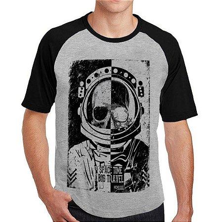 Camiseta Raglan space time