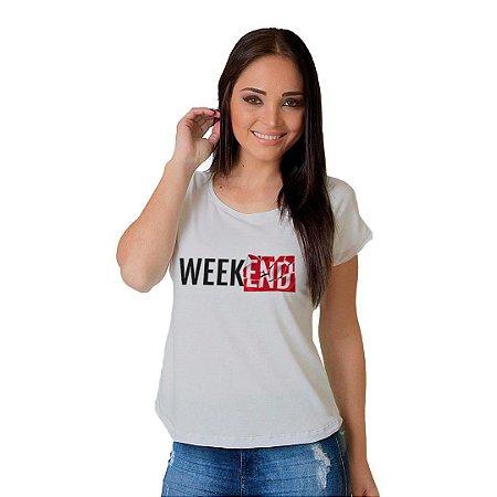 Camiseta T-shirt  Manga Curta WeekEnd
