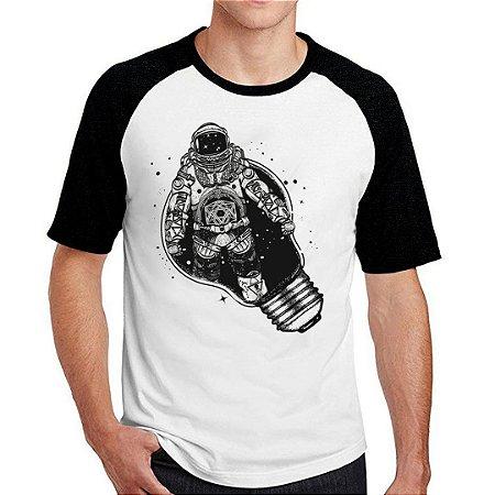 Camiseta Raglan space glow