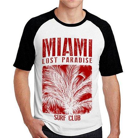 Camiseta Raglan Miami