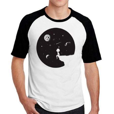 Camiseta Raglan universe