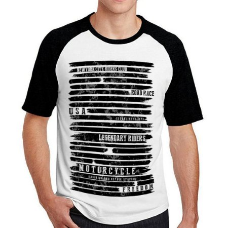 Camiseta Raglan freedom