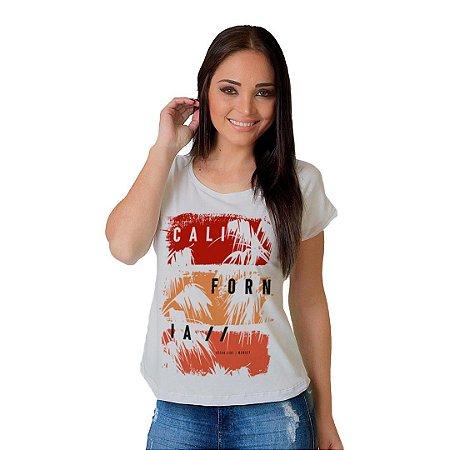 Camiseta T-shirt  Manga Curta Califórnia