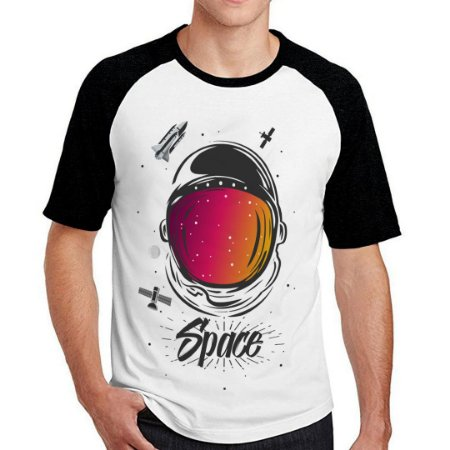 Camiseta Raglan Space