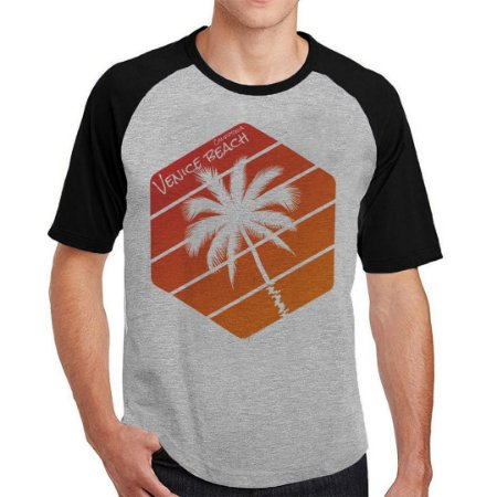 Camiseta Raglan Venice Beach