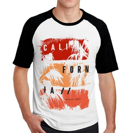 Camiseta Raglan California