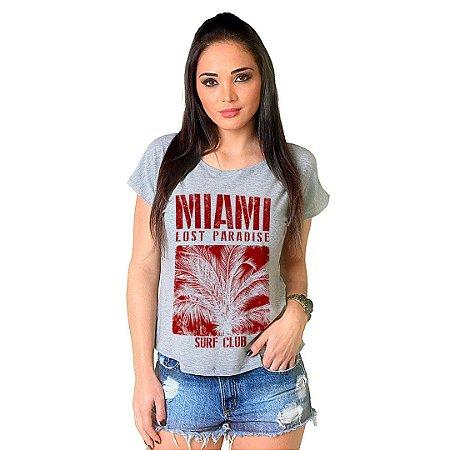 Camiseta T-shirt Manga Curta Miami